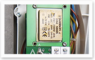 Upgrade kit main component is LUK-A-A1 logic card with the renewable software. This allows user to perform condition monitoring systems, units control, and current mode audible and visual notification.